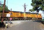 BNSF 9857, UP 7693
